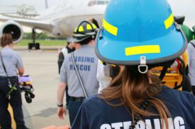 Dulles Disaster Drill